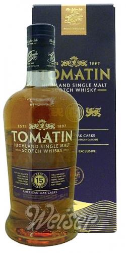 Whisky / Schottland / Nördliche Highlands und Inseln / Tomatin 15 ...