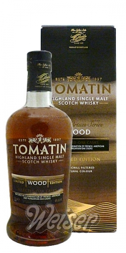Tomatin Five Virtues 0,7 ltr. Limited Wood Edition
