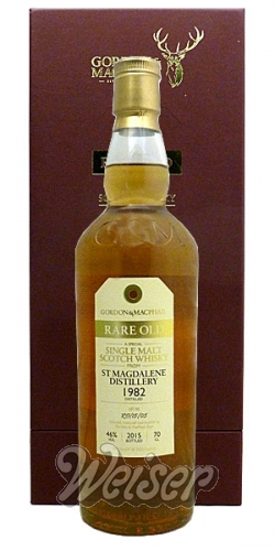 St. Magdalene 1982, bottled 2015 Rare Old, Gordon&MacPhail 0,7 ltr.