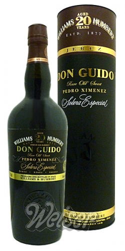 Williams & Humbert Don Guido 20 Jahre 0,75 ltr. Solera Especial Rare Old Sweet Pedro Ximenez Sherry