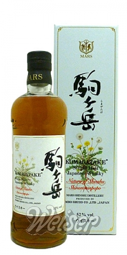 Whisky Japan Komagatake Nature Of Shinshu 0 7 Ltr Shinanotanpopo
