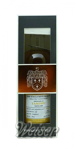 Tamdhu 2007 10 Jahre, Cask 6829 Exlusive Malts, The Creative Whisky Co. 0,7 ltr.