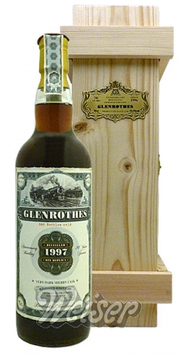 Glenrothes 1997, Cask 131 Anniversary Bottling 20 Years JWWW Old Train Line Replica 0,7 ltr.