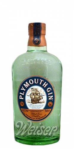 Plymouth Gin 41,2% 0,7 ltr.