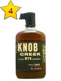 Knob Creek Straight Rye Whiskey 0,7 ltr. Small Batch bottled 2014