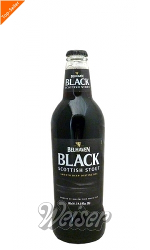 Belhaven Black Scottish Stout 0,5 ltr.