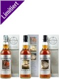 Hazelburn 8 Jahre First Edition Whisky Set 3x 0,7 ltr.