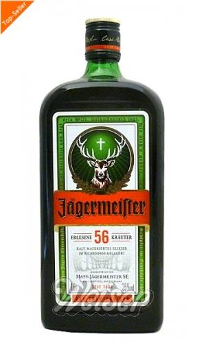 Weitere Spirituosen / Bitter und Kräuter / Jägermeister 1,0 ltr.