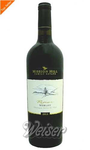 Mission Hill Reserve Merlot 0,75 ltr. Okanagan Valley 2013