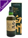 The Hakushu 18 Jahre Japanese Single Malt Whisky 0,7 ltr.