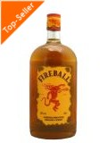 Fireball Liqueur blended with Cinnamon & Whisky 0,7 ltr.